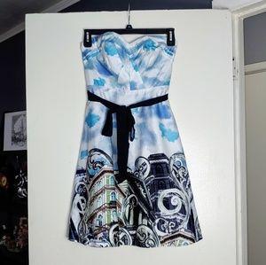 NWOT Strapless Anthro Moulinette Soeurs Dress